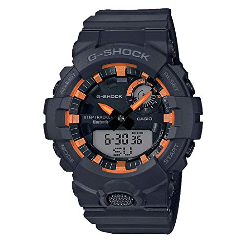 Casio G-Shock Men's GBA800SF-1A Analog-Digital Watch Black