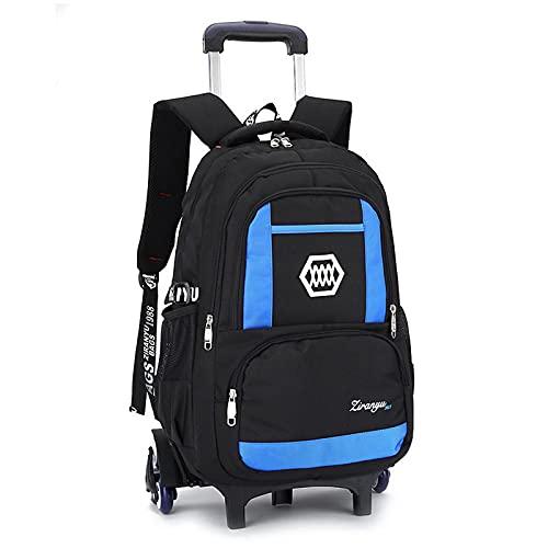 Mochila grande para niños, mochila escolar, ligera, impermeable, bolsa de viaje, mochila de senderismo, para niñas y niños C-32 x 16 x 48 cm