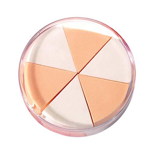 Frcolor Utilisation: Maquillage du visage Éponge soufflée douce pour la peau Pâte éponge fond de teint pâle pour poudres Puff Puff Dry Wet Utiliser avec un boîtier