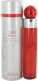 Perry Ellis 360 Red by Perry Ellis Eau De Toilette Spray 3.4 oz for Men - 100% Authentic