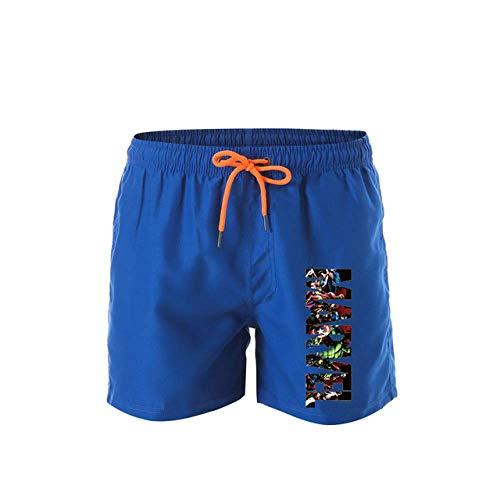Shorts De Sport pour Hommes Imprimés Été Nouveaux Shorts Décontractés Shorts De Course en Plein Air pour Hommes Pantalons De Plage À Séchage Rapide Pantalons De Fitness XL 1