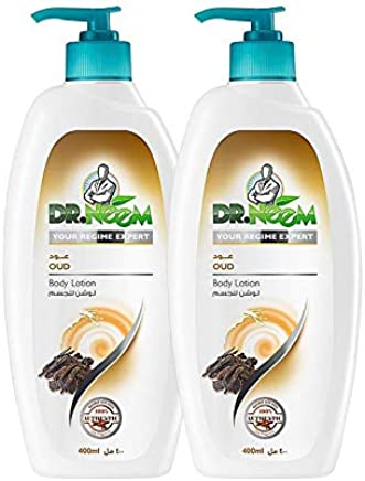 Dr. Neem Oud Body Lotion- Pack of 2PCs (2 x 400ml)- SPECIAL OFFER