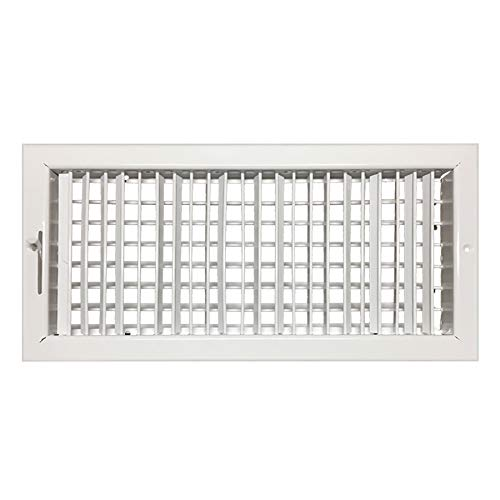 8'w x 4'h Adjustable Diffuser - Vent Duct Cover - Grille...
