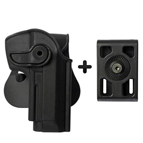 IMI Defense Z1250 - Cinturón intercambiable para remo (remo de Roto Retention Concealed Carry Polímero Pistol Handgun Holster para Beretta 92, Llama 82 y Cheetah FS 85, Yavuz-16)
