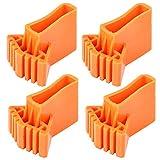 Hemoton 4 Piezas No Escalera Pies Extensión Escalera Pie Almohadillas de Goma Cubierta Seguridad Parachoques Pies Alfombrilla Cojín Reemplazo de Suela para Oficina en Casa