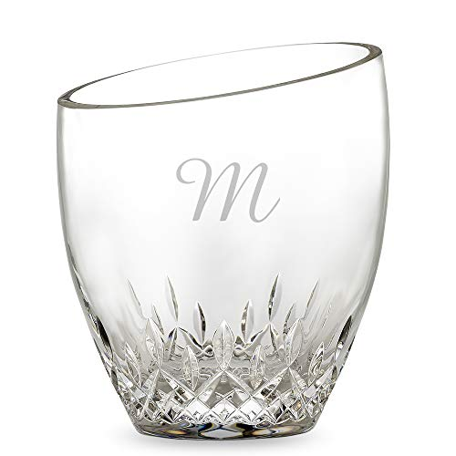 Personalized Waterford Lismore Essence Ice Bucket With Tongs) Engraved & Monogrammed - Perfect for Christmas and the Holidays