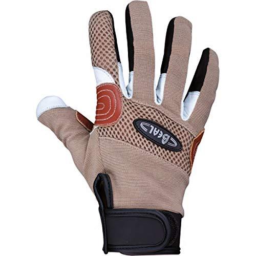 Beal Rope Tech Glove Braun, Fingerhandschuh, Größe L - Farbe Brown