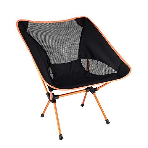 Wangbadan Acampar Silla Plegable portátil Silla de Playa de Peso Ligero Que acampa Portable Silla P