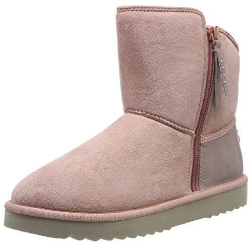 ESPRIT Damen Uma Zip Bootie Stiefeletten, Pink (Blush 665), 39 EU