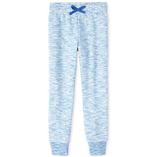 The Children's Place Girls' Big Active Joggers, Cool Cobalt, X-Small (4)