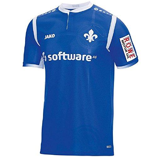 JAKO Kinder SV Darmstadt 98 Trikot Heim 2017/2018 Heimtrikot, blau/weiß, 164