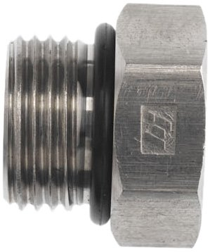 Brennan 6408-08-O-SS, Stainless Steel Tube Fitting, Hex Plug , 1/2