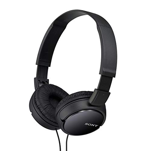 Sony MDR-ZX110 On-Ear Stereo Headphones (Black)