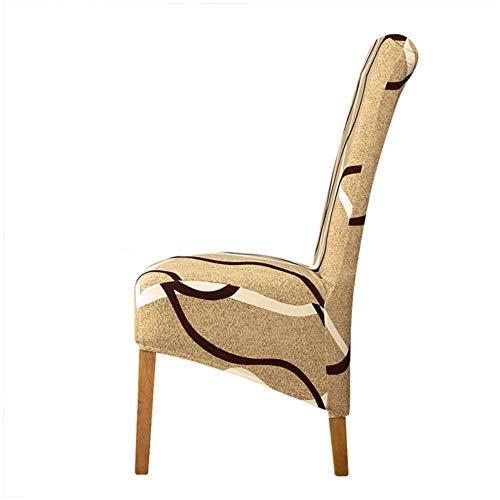 Tayinio Stoelhoezen met bloemenprint, stretch-motief, elastische hoezen, bureaustoel, banket, hotel, dining Home