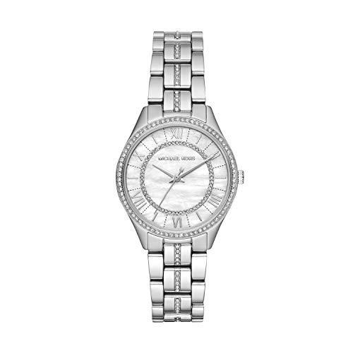 Michael Kors dames analoog kwarts horloge met roestvrij stalen armband MK3900