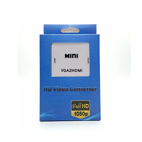 Terabyte MINI VGA2HDMI UP Scaler 1080P HD Video Converter