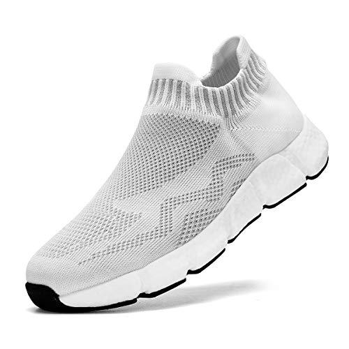 FUJEAK Zapatillas Casual para Hombre Zapatillas de Running para Hombre Tenis Asfalto Zapatos Deporte Fitness Gym Correr Gimnasio Deportives Transpirables Seguridad Atlético Trekking Sneakers