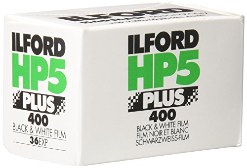 Ilford HP5 Plus 400-36 Película Fotográfica, Color Blanco y Negro