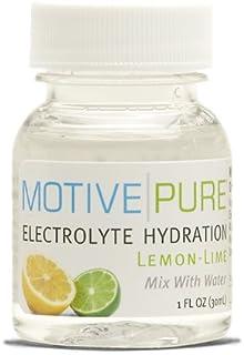 Motive Pure Electrolyte Hydration, Lemon-Lime, 1 oz Mini Bottle, 12-pack