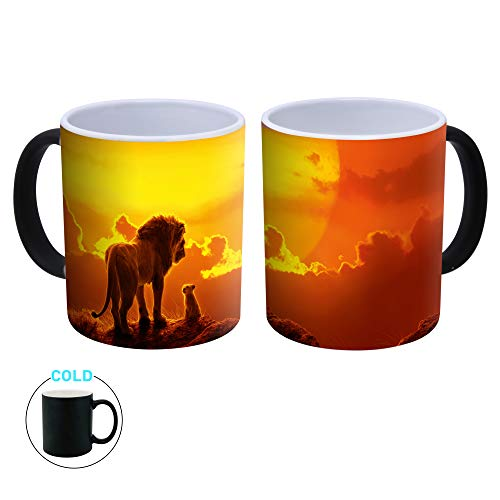 Colormugs The Lion King Mufasa & Simba - Taza de café (cerámica, 300 ml)