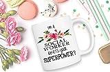 Tazza dell'assistente sociale, regalo dell'assistente sociale, regalo del collega, tazza di caffè, regalo del lavoro sociale, tazza del lavoro sociale, regalo dell'assistente sociale divertente, regal