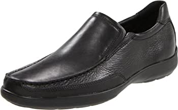 Bostonian Men s JOLLIET Slip-On,Black Tumbled Leather,10.5 M US