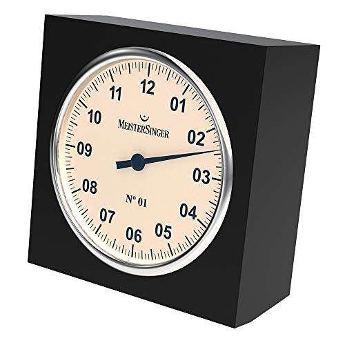MeisterSinger Table Clock - 13cm - TU01 Tischuhr