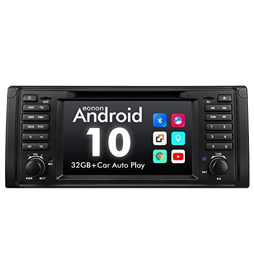 eonon GA9449 Android 10 fit BMW 5 Series E39 1995-2002 Car Stereo Autoradio Quad-Core 2GB RAM 32G ROM Quad-Core Indash 7