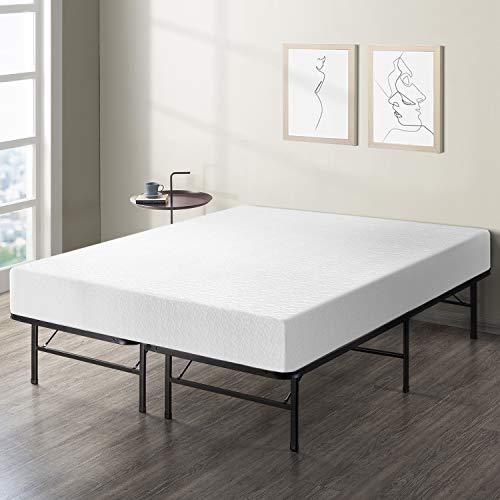 "Best Price Mattress 8"" Comfort Premium Memory Foam Mattress and Bed Frame Set, Twin"