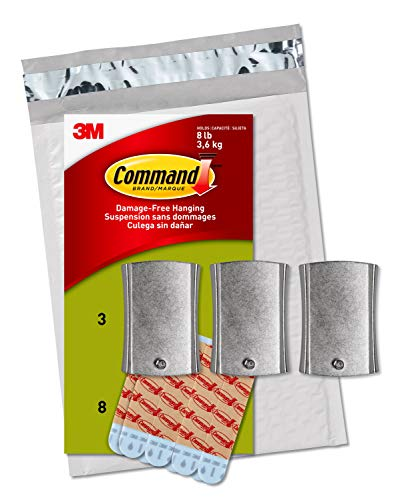Command Universal Frame Hanger, Holds 8 lbs, White, Decorate Damage-Free, Easy to Open Packaging