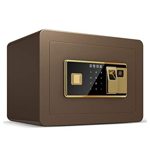 Cancelleria per ufficio Impronta digitale sicura sicura 350 * 250 * 250mm dell'impronta digitale con il piccolo armadio dell'ufficio domestico antifurto fissato al muro di chiave di emergenza