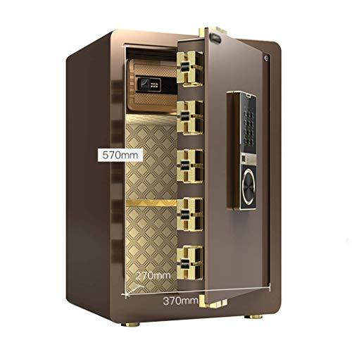 qazxsw Electronic Home Safe mit mittlerem Anti-Flying Fingerprint Lockbox Office Electronic Safe