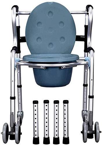 Acolchado SillaDe Ducha, Silla de ducha de la cabina de la cabina de la cabina de la cabina de la cabina de la cabina con ruedas, silla de baño, silla para discapacitados silla de ducha silla de silla