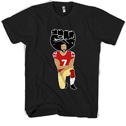 Colin Kaepernick United we Stand Power Kneeling Man s tee Tshirt DMN0211 t-Shirts, Hoodie Black