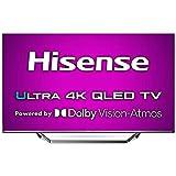 Hisense ULED 2020 65U7QF - Smart TV 65' Resolución 4K, Quantum Dot, FALD, Dolby Vision, Dolby Atmos, Vidaa U 4.0 con IA, Alexa Built-in, Gris