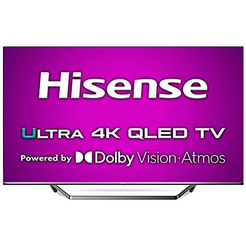 "Hisense ULED 2020 65U7QF - Smart TV 65"" Resolución 4K, Quantum Dot, FALD, Dolby Vision, Dolby Atmos, Vidaa U 4.0 con IA, Alexa Built-in, Gris"