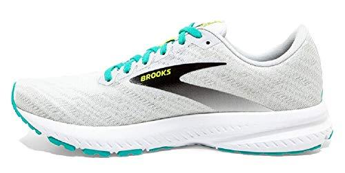 Brooks Launch 7, Zapatillas para Correr Mujer, White Nightlife Atlantis, 37.5 EU