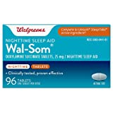 Walgreens Wal-Som Nighttime Sleep Aid Tablets 96 ea