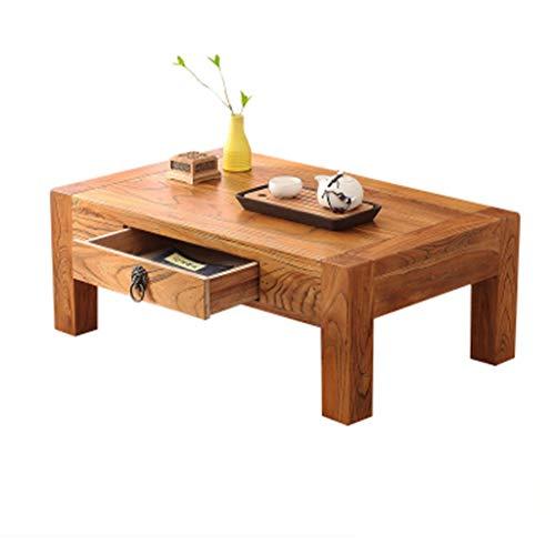 Table Ensembles de et chaises Petite Balcon Baie Vitrée Basse avec Tiroir Tatami Ménage Basse Multifonctionnel Bureau D'ordinateur Cadeau