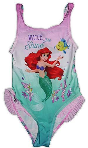 Disney Little Mermaid - Bañador de una pieza Multicolor multicolor 4-5 Años