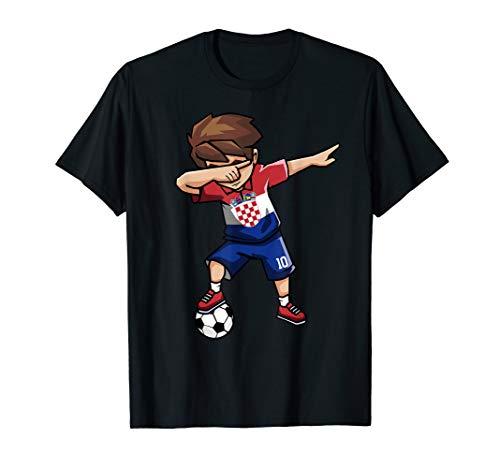 Sanftes Soccer Boy Kroatien Jersey Shirt kroatischer Fußball