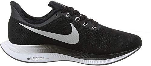 Nike W Zoom Pegasus 35 Turbo, Scarpe Running Donna, Multicolore (Black/Vast Grey/Oil Grey/Gunsmoke 001), 38.5 EU