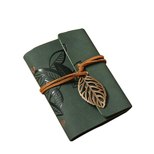 Pixnor Kartenetui, Leder, mit Schutzhüllen