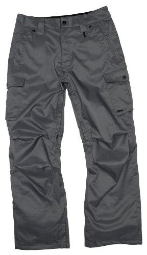 Nitro Snowboards Give it Revolution Pantalon Fonctionnel pour Homme, Homme, 172645003, Concrete Poly Slub, L