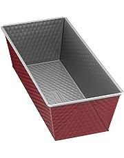 Kaiser Molde para bizcocho Classic Plus 30cm Fabricado en Alemania Antiadherente, Metal, Rojo/Plata, 31 x 11.5 x 8 cm