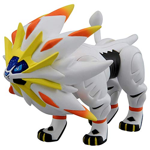 Yzoncd Pokemon Sammlung Moncolle Solgaleo Actionfigur 10Cm, Anime Solgaleo Pokemon Figur Puppen Spielzeug Geschenk Für Kinder