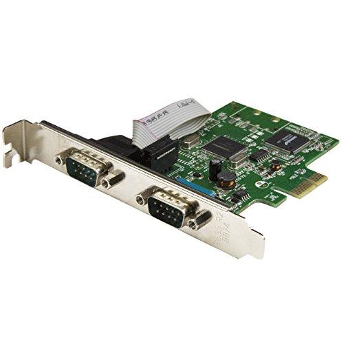 StarTech.com 2-Port PCI Express Serial Card with 16C1050 ...