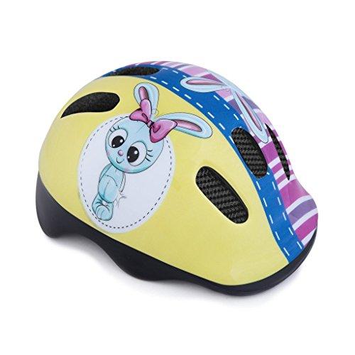 Spokey Fahrradhelm, Rollen, Kinder 44-48 cm Bunny