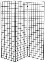 Grid #1900B (3PCS) + 1904B (6PCS) New Retails Black Finished Z Unit with Three 2' X 6' Panels