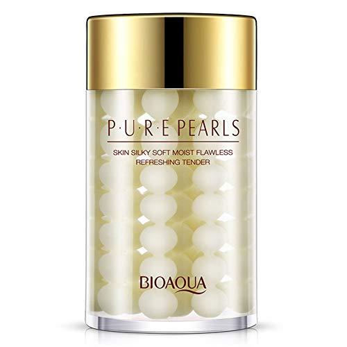 HoganeyVan BIOAQUA Pearl Essence Sleepy mascarilla facial hidratante y nutritiva para el cuidado de la piel
